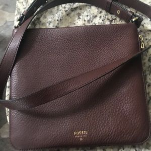 Brown Fossil Purse